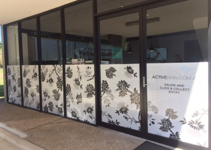 Jmac Graphics, Signage, Outdoor, Office, Window Graphics, One Way Vision, Active Skin