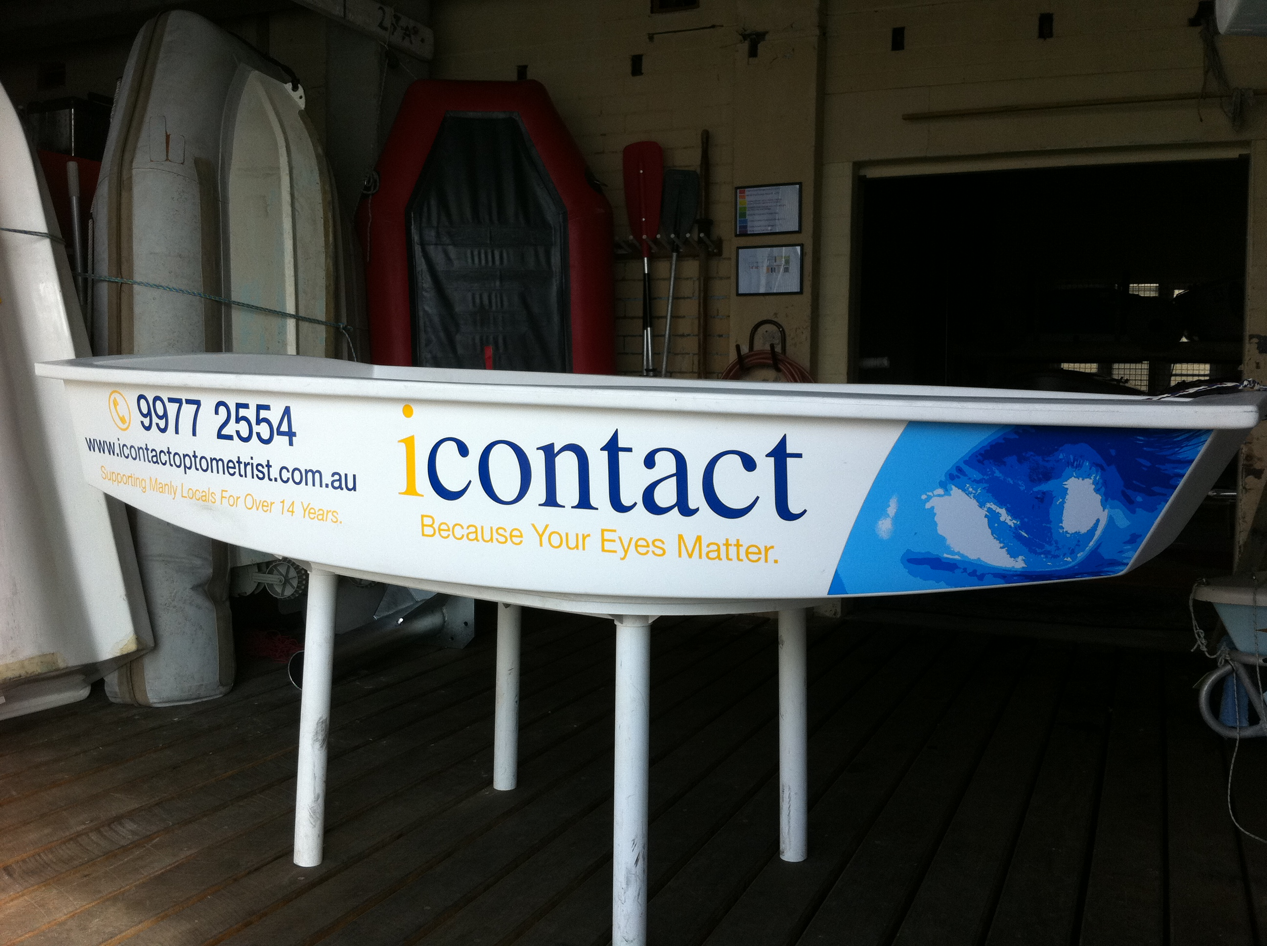 Jmac Graphics, Signage, Outdoor, Wrapping Boat, i Contact