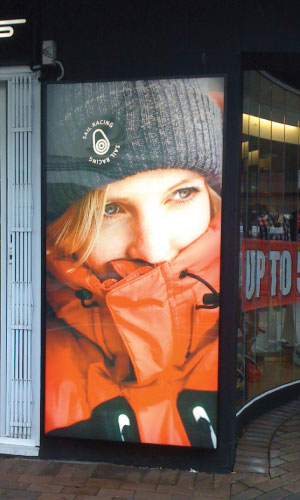 Jmac Graphics, Signage, Indoor, Office, Window Graphics, Lightbox, Snowsport