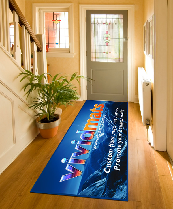 Jmac Graphics, Signage, Indoor, Fabric Printing, Custom Mats, Hallway