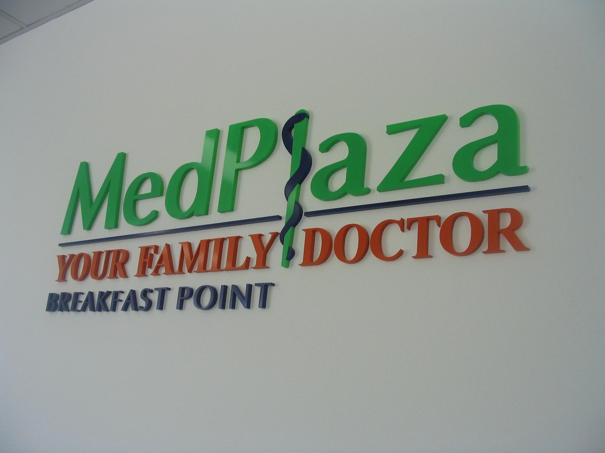 Jmac Graphics, Signage, Indoor, Office, 3D, Med Plaza