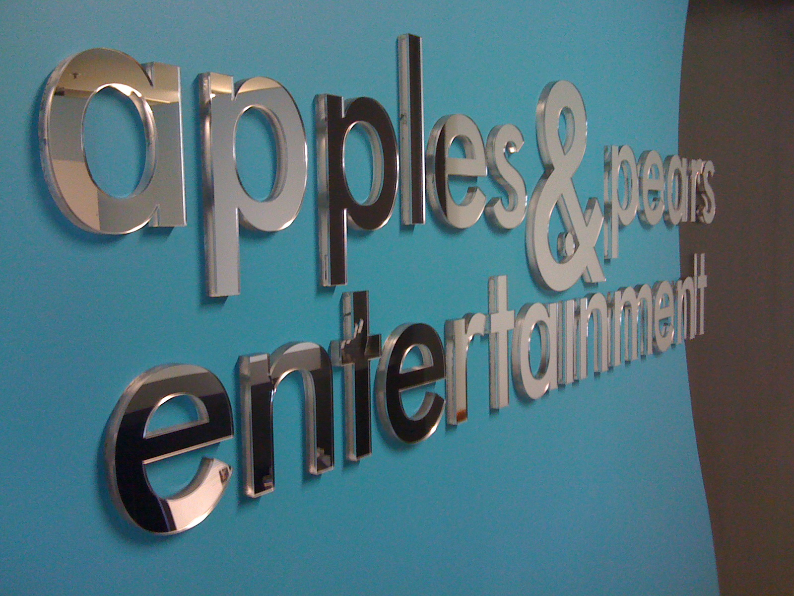 Jmac Graphics, Signage, Indoor, Office, 3D, Appels and Pears