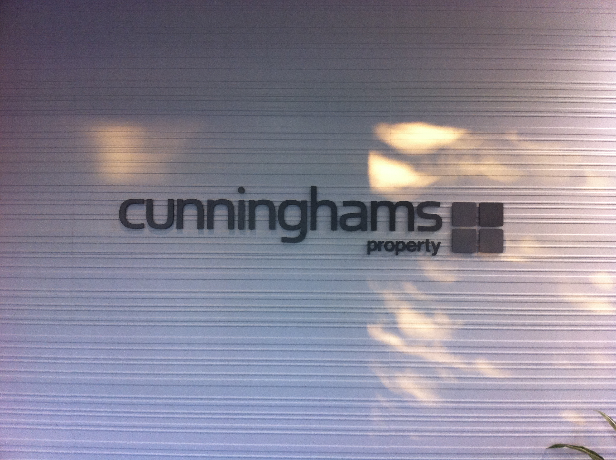 Jmac Graphics, Signage, Indoor, Office, 3D, Cunninghams Property