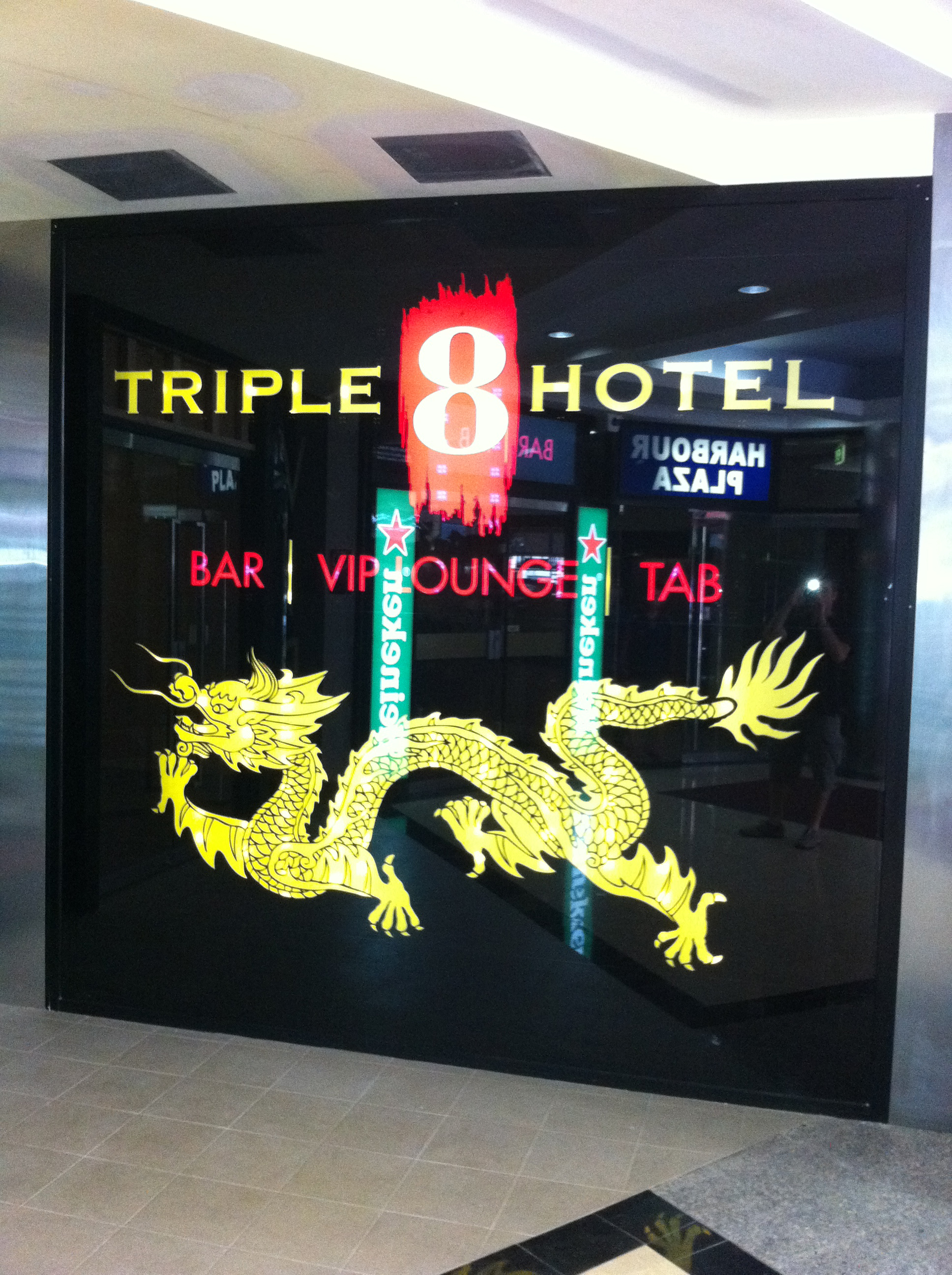 Jmac Graphics, Signage, Indoor, Office, Window Graphics, Triple 8 Hotel