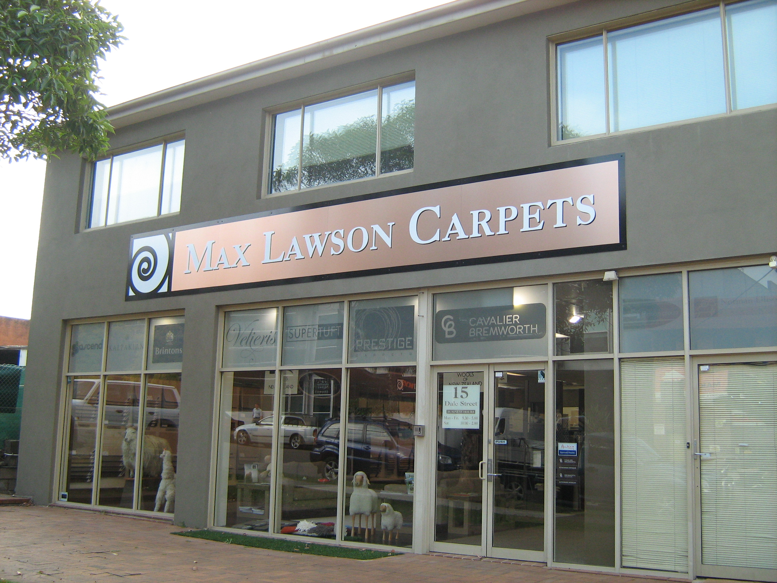 Jmac Graphics, Signage, Outdoor, Building, Awning, Max Lawson Carpets