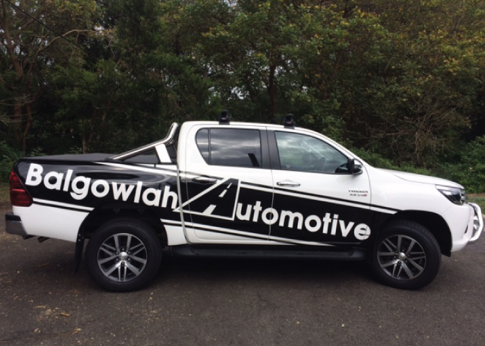 Jmac Graphics, Signage, Outdoor, Wrapping Car, Wrapping Ute, Balgowlah Automotive